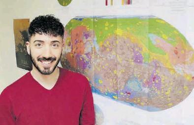 ?? EL PERIÓDICO ?? García-Arnay afirma que investigar sobre Marte es «duro» y solo puede afrontarse con «pasión».