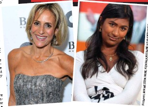 ??  ?? Supportive: Newsnight presenter Emily Maitlis, left, and Left-winger Ash Sarkar tweeted sympathy for Di Stefano
