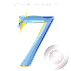 ??  ?? The cover of BTS' 2020 hit album 'Map of the Soul: 7' with RIAA's platinum certificat­ion mark on it.