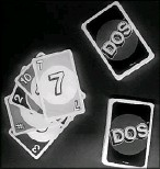 ?? Jenny Kane/The Associated Press ?? Mattel is launching a new card game, Dos, next month in hopes of giving its nearly 50-year-old Uno brand a second life.