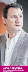 ??  ?? RAPHAEL BERGOEING Presidente de la Comisión de Productividad
