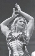 ?? DAVID O. GUNN, WWE ?? Next stop for four- time champion Beth Phoenix: the WWE Hall of Fame.