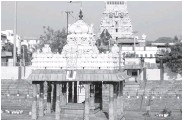 ??  ?? The Parthasarthy Temple is one of oldest structures in the city of Chennai