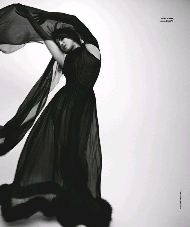 ??  ?? Saint Laurent dress, $8,020.