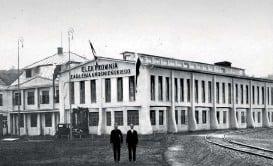 ??  ?? До електростанції у львівському районі Персенківка підвели газ із Дашави 1930 року. Доти використовували вугілля із Сілезії в Польщі