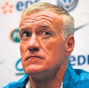??  ?? Didier Deschamps: defended by Frank Leboeuf over race claims.