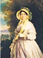 ?? DR ?? Anna Feodorovna en 1848, au temps de son second séjour à Genève.