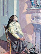 ??  ?? Dirty realism: Walter Sickert's Suspense (c1916) From Sat. Tickets: liverpool museums.org. uk