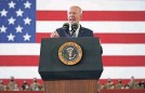 ?? PATRICK SEMANSKY/AP ?? President Joe Biden speaks to U.S. troops at a station in England on Wednesday.