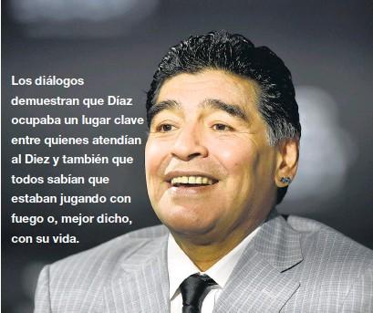 """?? AFP ?? """"Lo vi temblando el domingo. Pero mantengámoslo en privado"""", dijo Díaz."""