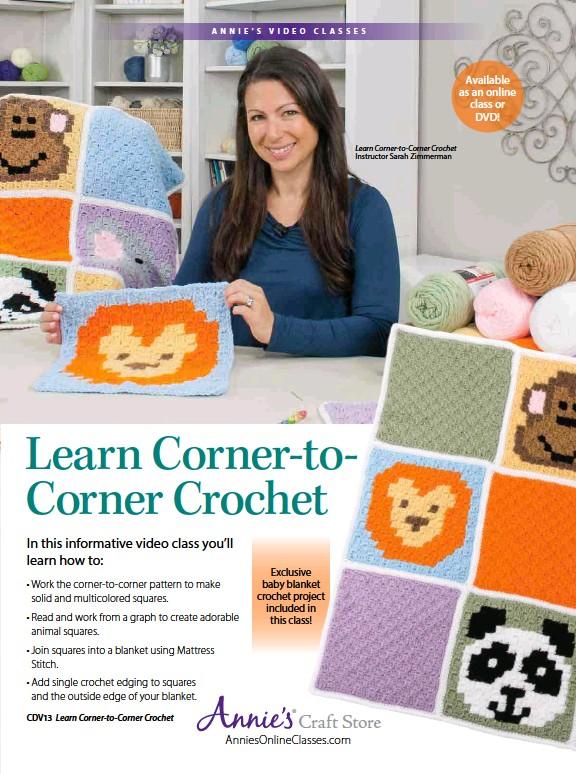 87b042a06 PressReader - Crochet World  2017-08-01 - Learn Corner-to-Corner Crochet