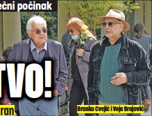 ??  ?? Branko Cvejić i Voja Brajović