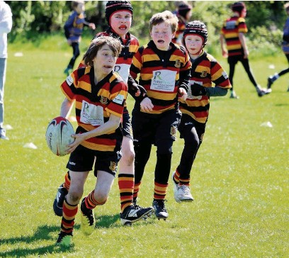 ??  ?? Heaton Moor has been named among the final six clubs in the running for the Youth-Mini Section of the Year category at the National Rugby Awards