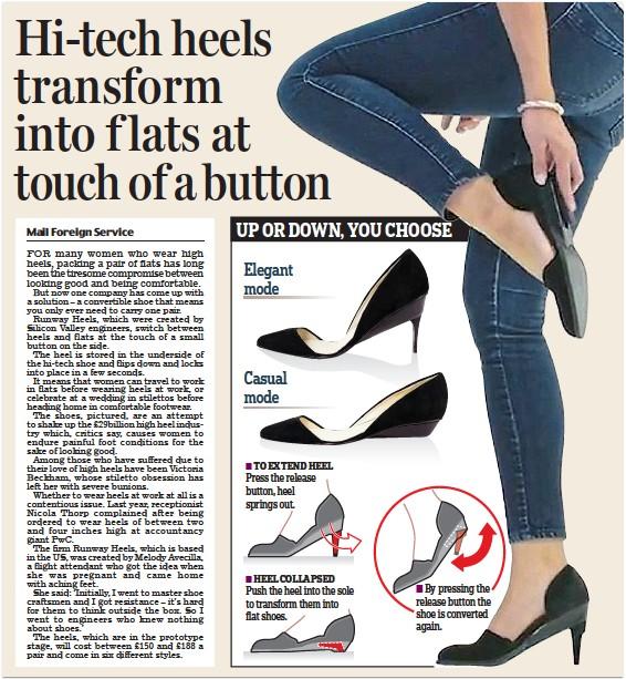 e180a27b60e5 PressReader - Daily Mail  2017-11-17 - Hi-tech heels transform into ...