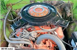 ??  ?? 383 V8 motor.