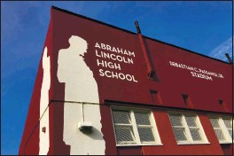 ?? HAVEN DALEY — THE ASSOCIATED PRESS ?? Abraham Lincoln High School in San Francisco.