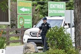 Des gardes de sécurité ont été embauchés aux chutes Dorwin de Rawdon.