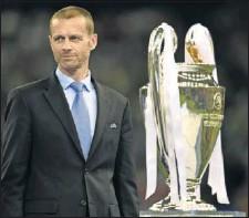 ??  ?? Aleksander Ceferin, presidente de la UEFA.