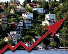 ?? FOTO: MOSTPHOTOS / MITT I ?? PRISÖKNING IGEN. Den heta bostadsmarknaden i Stockholm har ännu inte mattats av.