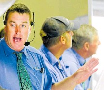 """??  ?? PGG Wrightson livestock manager Neil Common described September as """"a pretty solid market""""."""