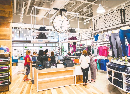 ?? COURTESY OF CHELSEA COLLECTIVE ?? The first Chelsea Collective store— an outgrowth of Dick's Sporting Goods— opened Tuesday at Tysons Corner Center. Another outlet will open soon in Pittsburgh.