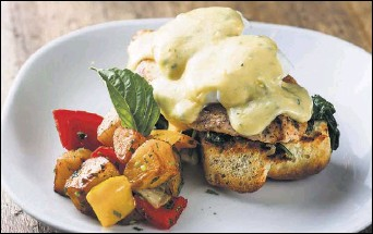 ??  ?? Robert Yu Princi Italia's threecourse prix fixe menu will include options such as eggs Benedict with grilled chicken and Tuscan potatoes.