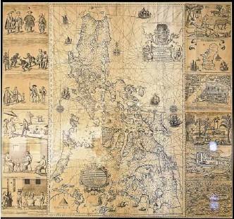 "??  ?? The ""extraordinarily rare"" Murillo-Velarde Map"