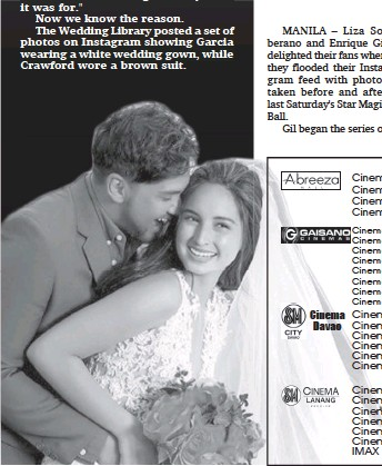 Pressreader Sunstar Davao 2017 10 04 Billy Coleen Bridal Shoot