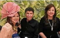 ??  ?? Sea Princess, Maurice Arcache, Alice Eduardo
