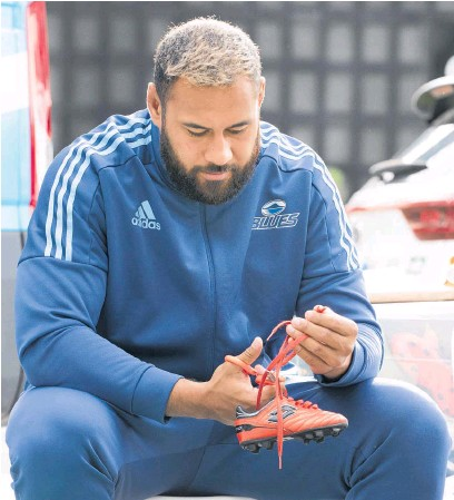 ?? Photo / NZ Herald ?? Patrick Tuipulotu has Samoan heritage but is fiercely loyal to the Blues.