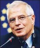 ??  ?? ab dış İlişkiler ve Güvenlik Politikası yüksek temsilcisi Josep Borrell.