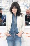 ?? Arkivbild: Joel C Ryan AP/TT ?? Den franska mångsysslaren Charlotte Gainsbourg fotograferad i Cannes 2019.