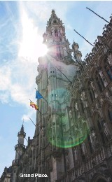 ??  ?? Grand Place.