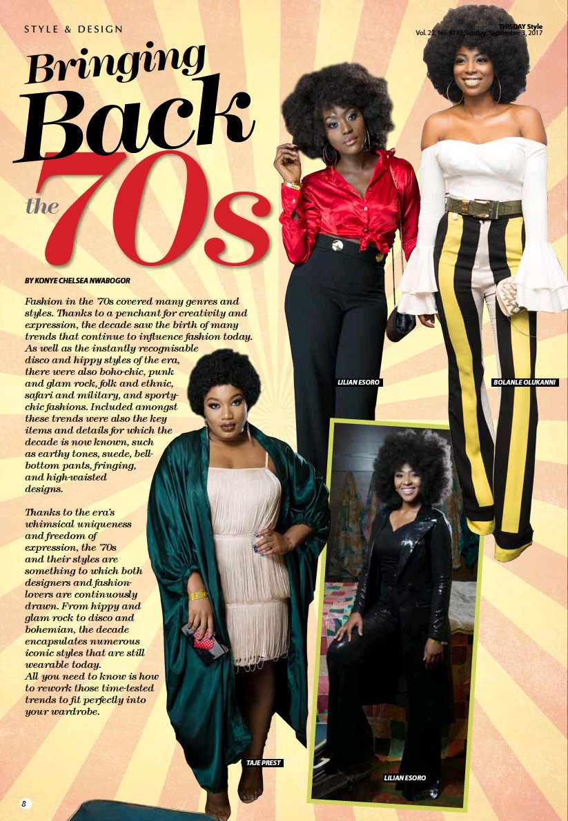 b82d04175ad PressReader - THISDAY Style  2017-09-03 - BRINGING BACK THE 70S