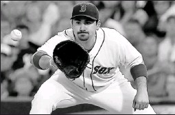 ?? By J. Meric, Getty Images ?? Boston Red Sox Trading places: First baseman Adrian Gonzalez is expected to thrive at Fenway Park after playing the majority of his games the last five seasons at pitcher-friendly Petco Park.