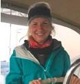 ??  ?? Karen Slater completed a World ARC on multiple boats