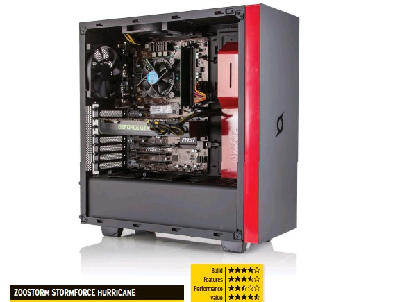 79a2c1501ee1 The Zoostorm Stormforce Hurricane is a smart-looking PC that delivers  entry-level performance at an entry-level price. The one-year warranty is  ...