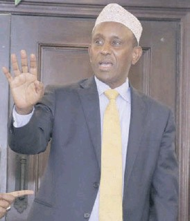 ?? /FILE ?? Garissa Governor Ali Korane