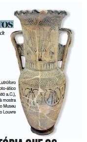??  ?? Lutróforo proto-ático (c. 680 a.c.), à mostra no Museu do Louvre