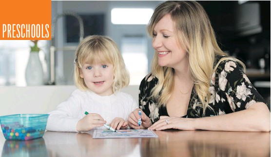?? DON MOLYNEAUX, POSTMEDIA CONTENT WORKS ?? Rose Bolton had a few different criteria in mind when she was looking for a preschool for her daughter Charlotte.