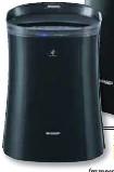 ??  ?? SHARP Air Purifier FP-FM40.