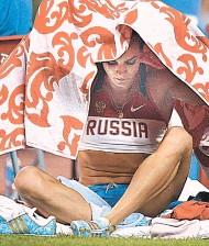 ??  ?? Елена Исинбаева: мировой рекорд будет, если сумеешь справиться с нервами.