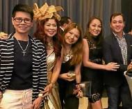 ??  ?? TESSA Alindogan, Sea Princess, Cheryl Tiu, Jojo Ongsiako, Anton Barretto
