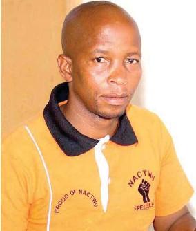 ??  ?? CONTENT: NACTWU Secretary General, Samuel Mokhele