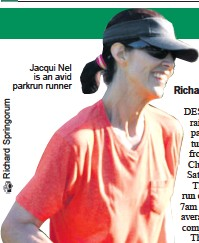 ??  ?? Jacqui Nel is an avid parkrun runner