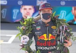 ?? AFP ?? Verstappen volvió a superar a Hamilton en la clasificación.