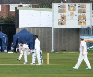 ??  ?? ●●Joe Cash bowled a terrific spell of 4 for 29 from 13 overs