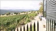 ?? New York Times ?? Pavel Shvets' vineyard sits in lush hills more than 1,500 feet above sea level. It's a 45-minute drive from Sevastopol.