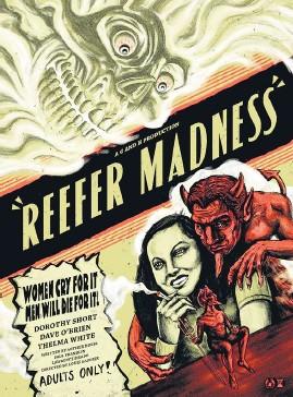 ??  ?? Reefer Madness es considerada la primera stoner movie.