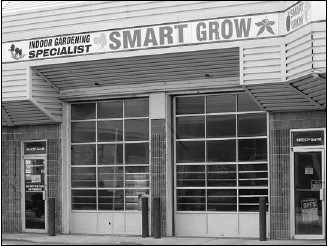 ?? Photos, Ted Rhodes, Calgary Herald ?? investigators say merchandise at the smart grow indoor gardening specialist on 23rd Avenue n.e. hardly turned over during a six-week period last spring.